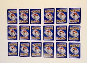 Old school pokemon cards, hard to find!!!