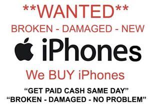 Buying Broken iPhones$$