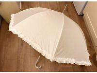 Totes Pearlised Ivory Wedding Walker Umbrella