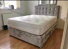 🛡️🛡️BRAND NEW DIVAN BEDS WITH MATTRESS