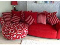 NEW DFS LARGE STUNNING CORNER SOFA CAN DELIVER FREE
