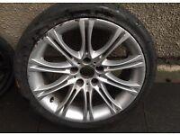 BMW E60 E61 Genuine Mv2 alloy wheel