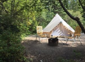 Free Fully Furnished Glamping Tents- Good Opportunity