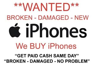 Buying broken iPhones!!