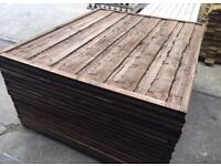 Timber Wayneylap Pressure Treated Feather New Edge Fence Panels