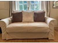 IKEA Backabro 2-Seater Beige Sofabed