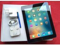 IPAD 3, LARGE 64GB, Wi-Fi + CELLULAR UNLOCKED