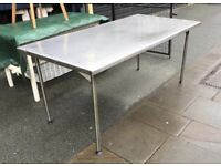 Metal Worktop Table/ Desk