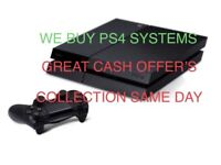 Unwanted Sony PlayStation 4 Systems for CASH!!