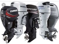 Cash paid for outboards working or not