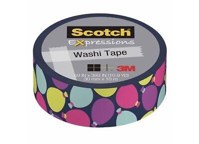 B Day Ballons (Scotch Expressions Washi Tape, 3/5