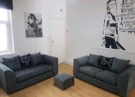 Zina Chenielle 3+2 Seater Sofas