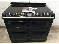 AGA SIX FOUR S-SERIES ALL ELECTRIC RANGE COOKER EX DEMO