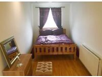 Large double room with private bathroom, available to rent now.