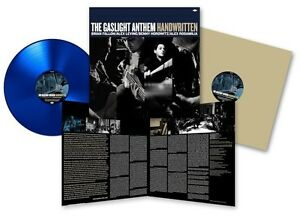 THE GASLIGHT ANTHEM Handwritten LP Blue Vinyl + MP3 Code  * 2012 * NEW * RARE