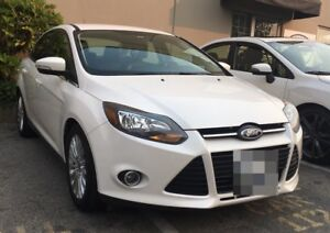 Ford Focus Titanium W/ Ford PremiumCare Extended Warranty