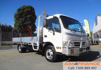 2009 HINO 300 HYBRID - Finance / Rent-to-Own $233pw*