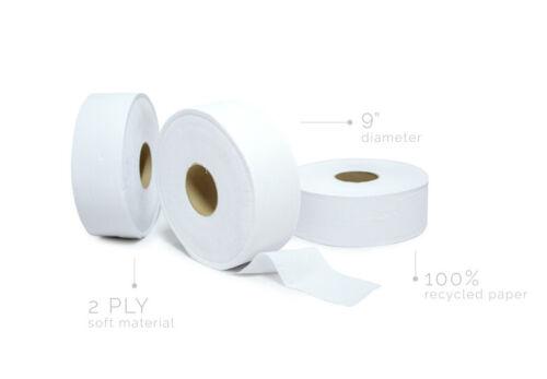 SoftTowel Jumbo Ultra Bath Tissue (12 Rolls), 2-Ply, White, 9 in Diameter