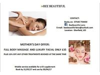MOBILE BEAUTY THERAPIST, MAKE-UP ARTIST, SHELLAC NAILS, PAMPER PARTIES & MASSAGE IN LEICESTERSHIRE