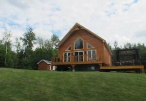 Beautiful waterfront cottage on Lac Murray