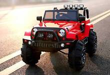 12V Jeep Wrangler Electric Battery Ride On Car Kid 3 Speed Remote Newington Auburn Area Preview