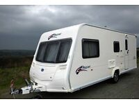 Bailey Pageant Champagne Caravan Series 6 4 berth full awning