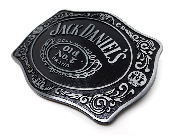 Alcohol Label Belt Buckles