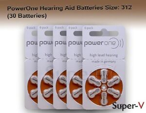 PowerOne-Hearing-Aid-Batteries-p312-SIZE-312-30-Batteries