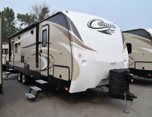 2017 Cougar 1/2 Ton TT - Travel Trailers Lightweight 26SABWE