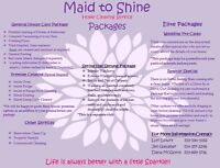 Maid To Shine Cleaning Service