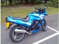 2001 GPZ500 Breaking