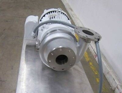 Waukesha 2105 Stainless Steel Centrifugal Pump 4 X 4 Inout Flanged 25hp