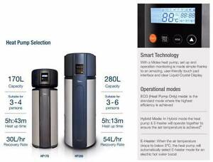 FREE hot water heat pumps! SA & Federal Gov rebates CALL TODAY Elizabeth Playford Area Preview