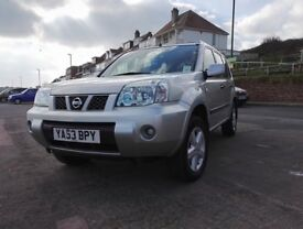 LPG, Nissan X-Trail, 2.0 Petrol Gas Bi Fuel, New MOT No Advisories, Manual, Mint Condition, 4x4