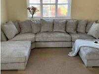-- CASH ON DELIVERY -- BRANDED NEW HIGH QUALITY U-SHAPE CORNER SOFA 6 SEATER AVAILABLE IN STOCK