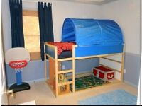 Bed tent as new fun for kids