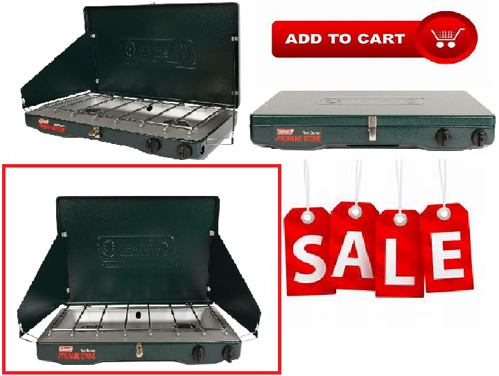 Coleman Gas Stove Portable Propane Gas Classic Durable Camp