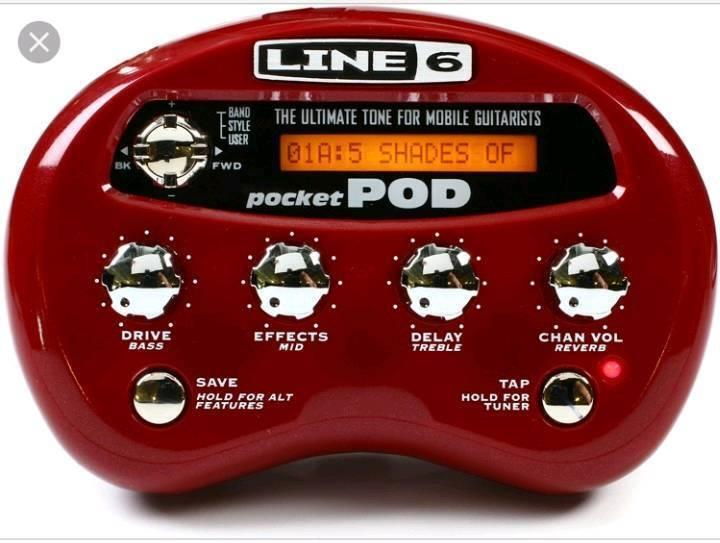 Line 6 pocket pod. PRICE DROP, OR OFFERS