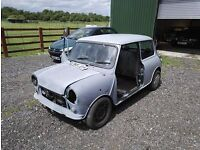 1989 Classic Mini Mayfair 998CC LOW MILES 24k Miles Project Barn Find