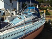 Superseal 26, Lift-keel, lovely condition, superb performance, great family boat