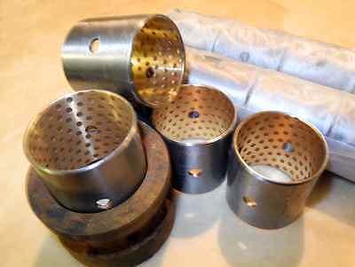 4x Bronze Rolleridler Bushings - Cletrac Oliver Hg Oc-3 Oc-4 Oc-6 Crawlerdozer