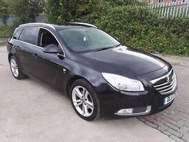 2011 Vauxhall Insignia 2.0 CDTi 16v SRi 5dr Estate,(Sat Nav).75000m, HPi clear.