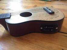Electric Sanchez Ukulele with Hard Case & Tuner Collingwood Yarra Area Preview