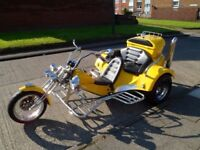 Rewaco 1600cc 3 Seater Trike