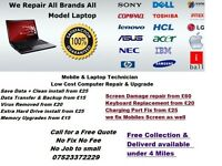 PC , Laptops & Mobile Repairs