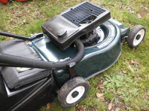 VICTA 2 STROKE LAWNMOWER & CATCHER Calwell Tuggeranong Preview
