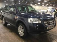2008 Land Rover Freelander 2.2 TD4 HSE 5dr Diesel blue Automatic