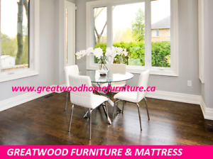 BRAND NEW 5 PC MODERN STYLE DINING TABLE SET FOR SALE $399....
