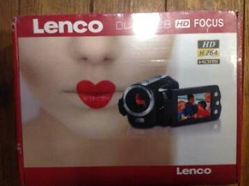 lenco digitale camera DVC 528 HD focus