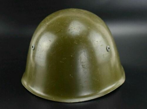 WW2 Combat M33 Italian type Helmet size 60 Bulgarian Army WWII